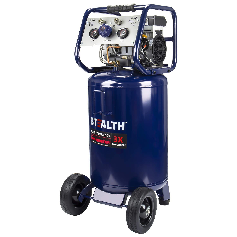 STEALTH 20 Gallon Ultra Quiet Air Compressor