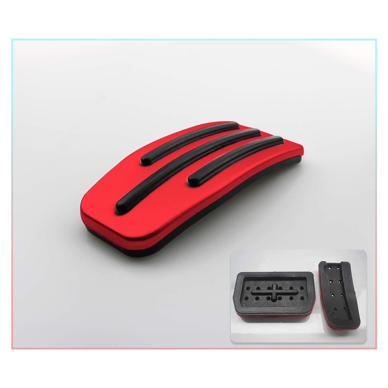 CDEFG para Model 3 Automatico Cubierta pedales acelerador freno Acero inoxidable Caucho No se oxida PPE Antideslizante 2 piezas