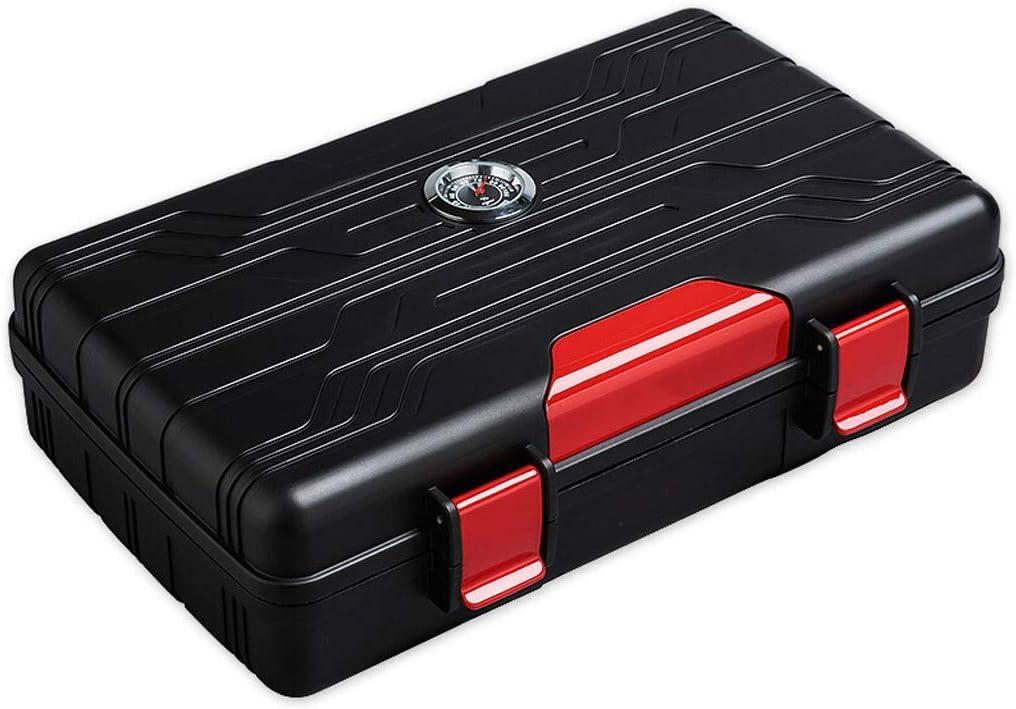 BoPin シーダーウッド、葉巻ヒュミドールシーダーウッドヒュミドールシガーストレージボックスのピアノは、2色のオプションをペイント シガーヒュミドール (Color : A)