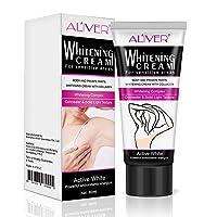 Body Cream, Lightening Cream,Effective for Brightening Armpit, Neck, Bikini, Thigh and Sensitive & Private Area Skin, Whitens Nourishes Repairs & Restores Skin