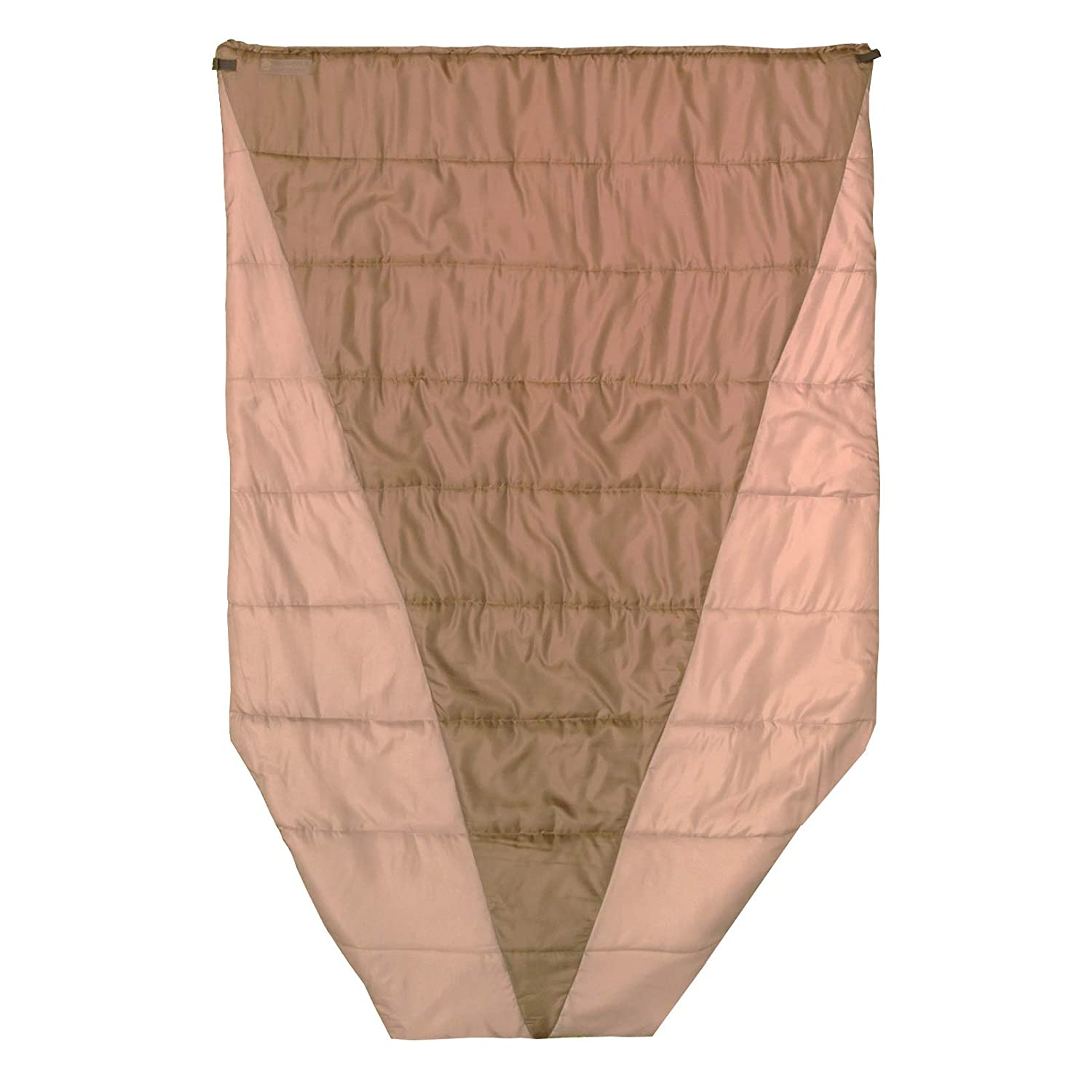 Go Outfitters Adventure Top Quilt, The Sleeping Un-Bag and Hammock Camping Top Quilt (Coyote Brown) [並行輸入品] B07R4WZY3K