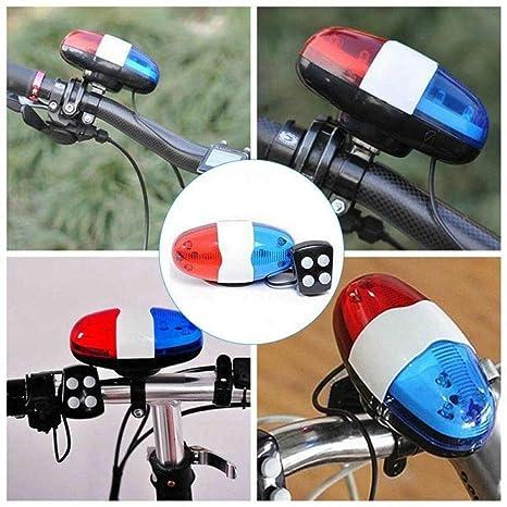ROMORR Accesorios para Bicicletas 6 LED 4 Tonos Sonidos Bicicletas ...