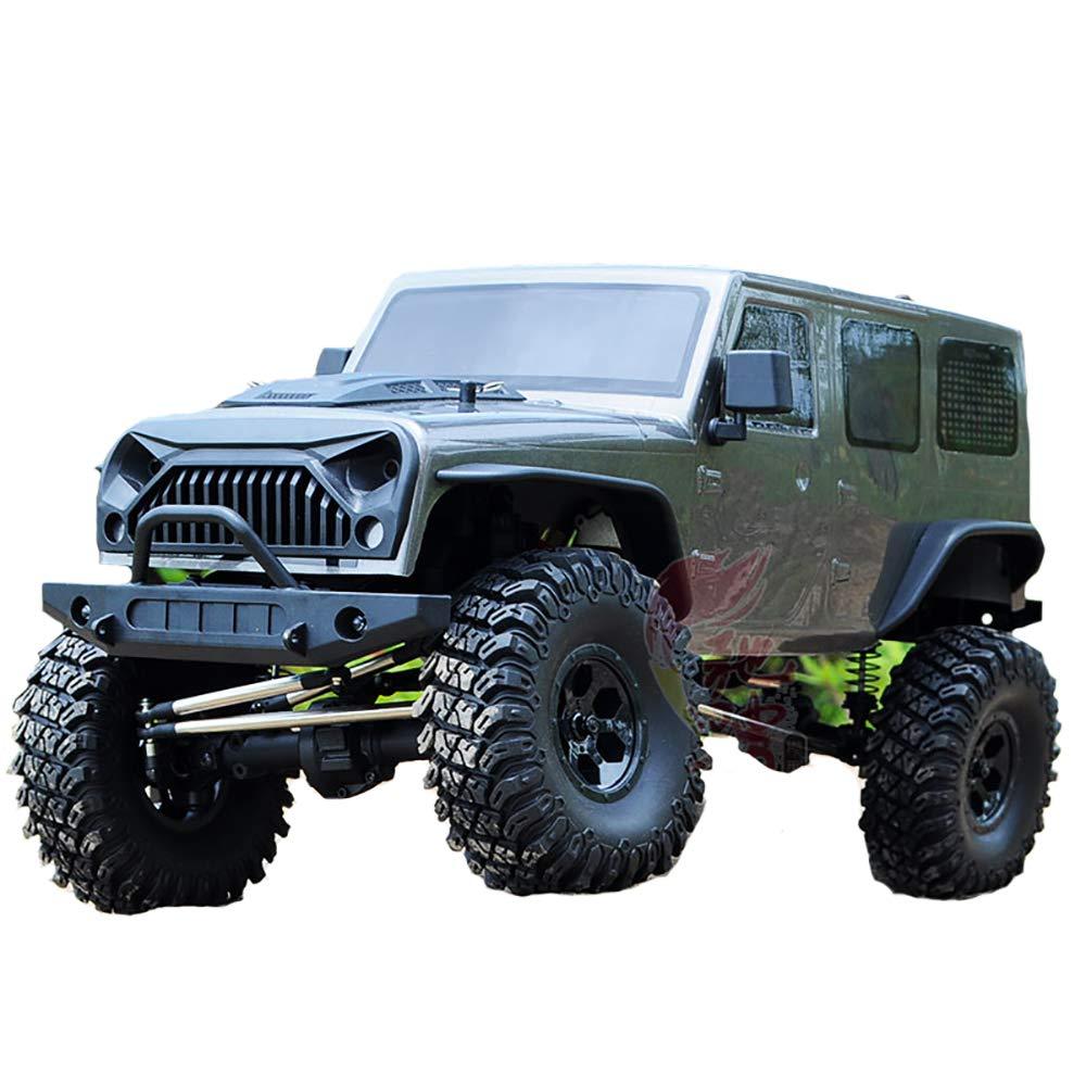 @MZL Auto Radiocomandata 1 10 Rapporto 4WD ad Alta velocità Auto 2.4Ghz Simulazione Ripristino Luci a LED sospensioni Auto da Scalata Professionale Fuoristrada