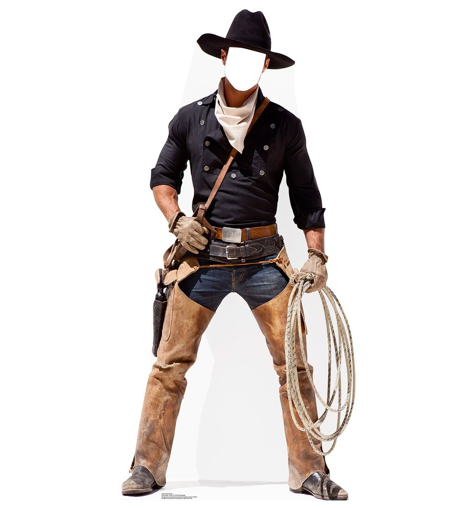 Cowboy Stand-In - Advanced Graphics Life Size Cardboard Standup
