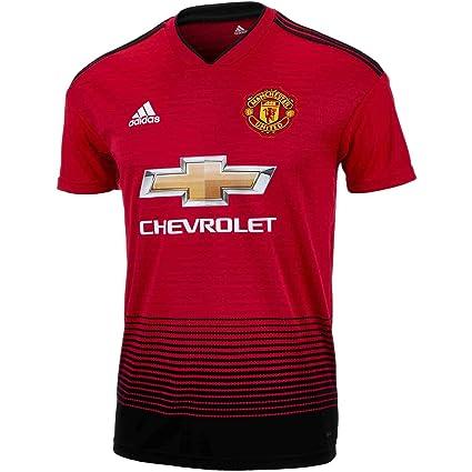 31bdb23c95b Buy M.U.F.C Manchester United Football Jersey Home 2018-19 (Medium ...