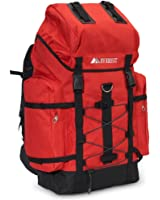Everest Jungle Camo Hiking Pack RED