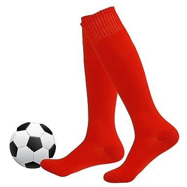 Football Socks,Fasoar Womens Mens Athletic Knee High Long Tube Socks 2 Pairs