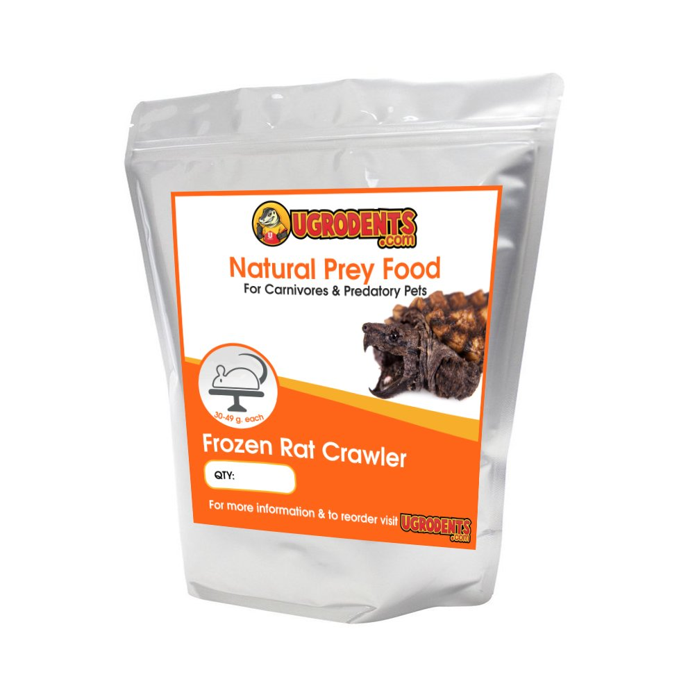 10-Pack Frozen Weaned (Crawler) Rats