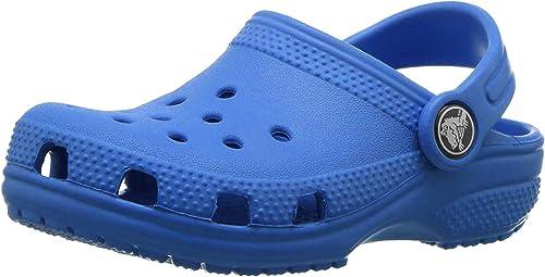 Zoccoli Unisex Bambini 25//26 EU Blu Crocs Roomy Fit Classic Clog Bright Cobalt 4jl