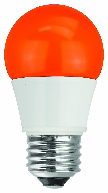 TCP RLAS155WOR LED A15 - 40 Watt Equivalent (5W) ORANGE Colored Light Bulb  - - Amazon.com