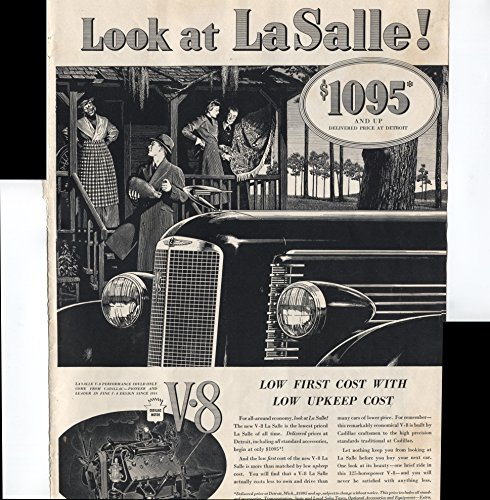 Cadillac La Salle Original Vintage Advertisement