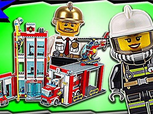 Clip: Fire Station (70814 Lego Movie)