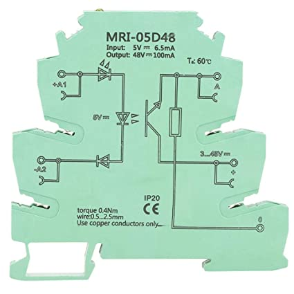 Akozon Optocoupler Isolating PLC Relay MRI-05D48 High And Low Level