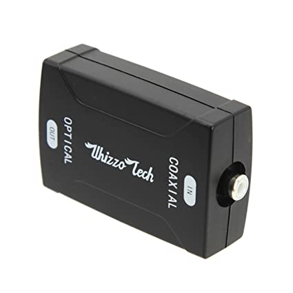 Coaxial to TOSlink Optical Digital Audio Converter HD Sampling & RCA Cable ...