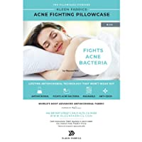 Kleen Fabrics Acne Fighting Antimicrobial Pillowcase with PurThread Silver Technology...