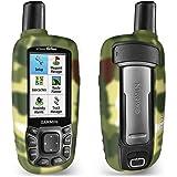 TUSITA Custodia per Garmin GPSMAP 62 62s 62st 62sc 62stc 64 64s 64st 64sc - Custodia Protettiva in Silicone per Pelle - Accessori Navigazione GPS palmare