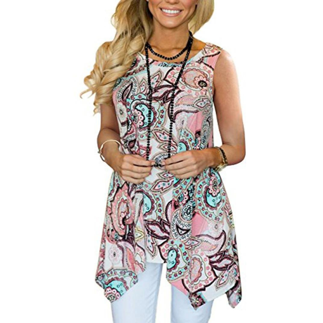 c4482e4526 UONQD Woman Blouses for Women Blouse Chiffon Polka dot Peasant Sleeveless  Lace White Floral Sexy red Ruffle Girls Saree Elegant Short Sleeve Peplum  Silk ...