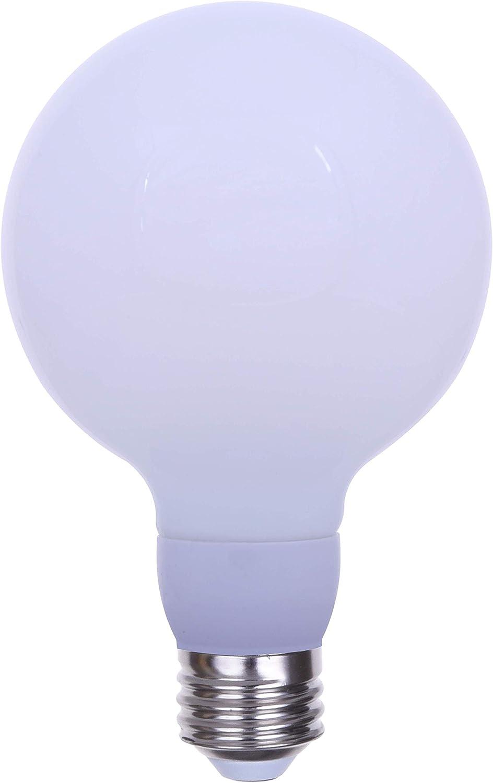 Frosted Cool White 4100k Medium E26 Base LED Light Bulb Dimmable Goodlite G-20133 Filament 100 Watt Equivalent 1600 Lumens G30 Edison Style