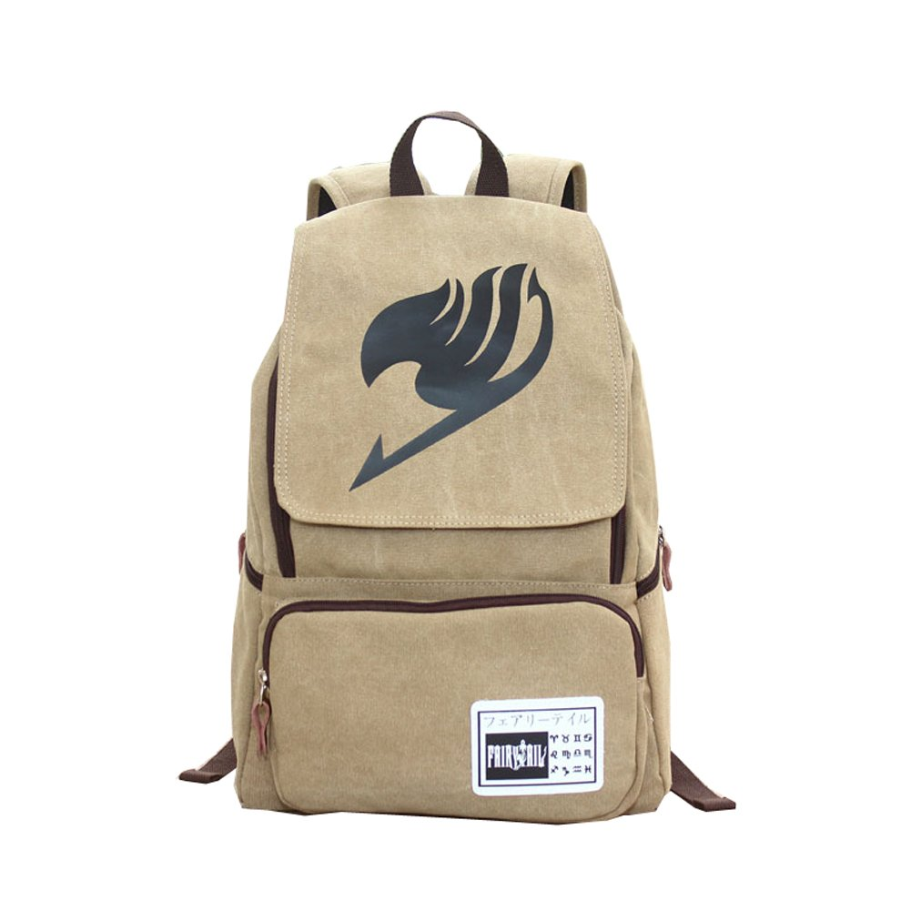 Fairy Tail Unisex Multi-function Canvas Bag Travel Backpack