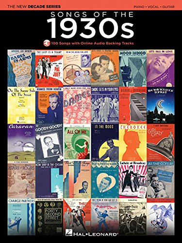 Songs of the 1930s: The New Decade Series with Online Play-Along Backing Tracks