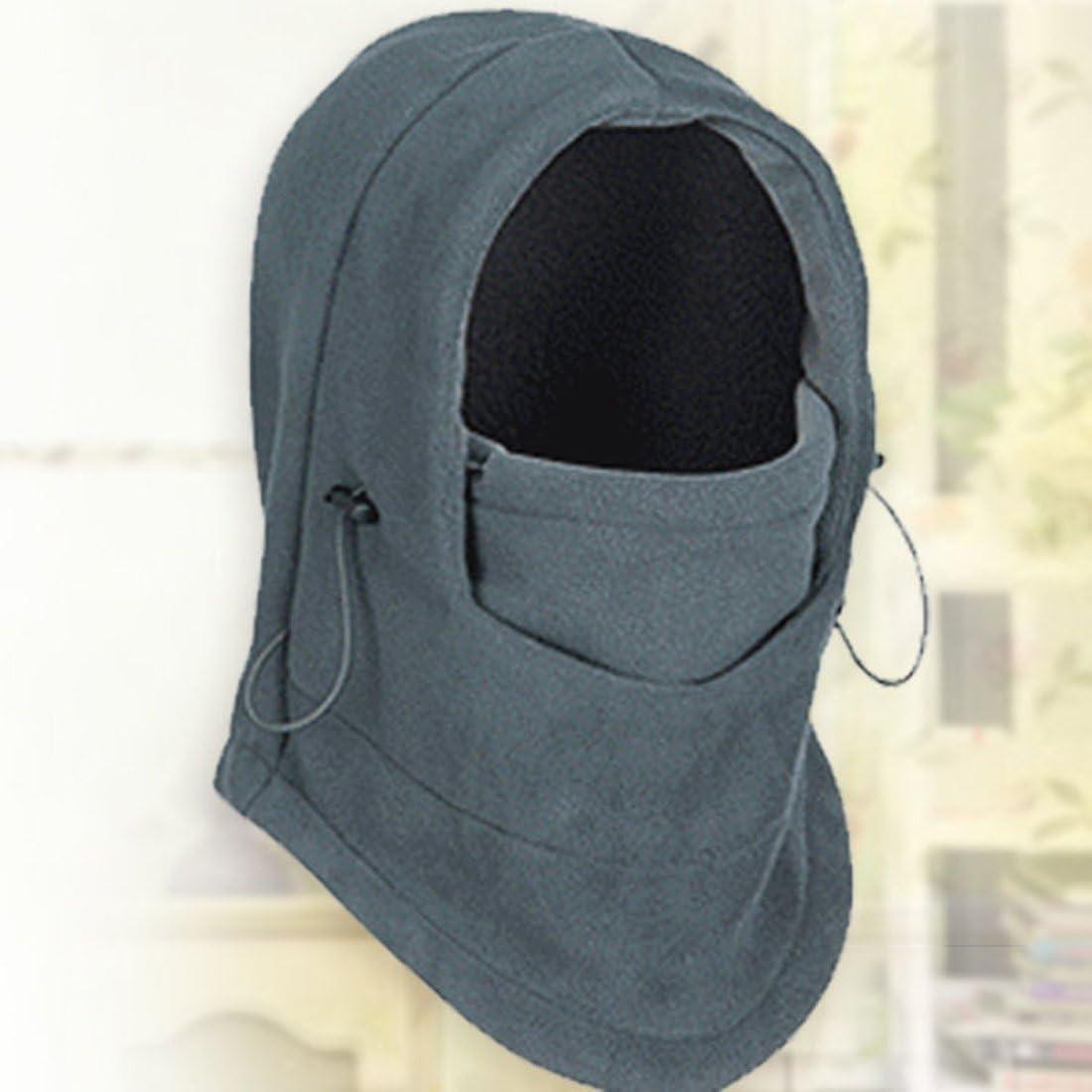 Sombreros Calientes del pa/ño Grueso y Suave del Invierno para el Calentador del Cuello del pa/ñuelo M/áscara Facial del pasamonta/ñas del Snowboard