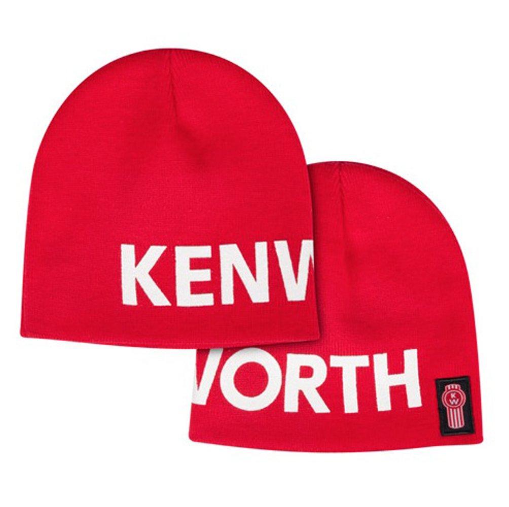 45479b59f7f Kenworth Oversized Letterblock Red Winter Beanie Cap  Amazon.ca  Sports    Outdoors