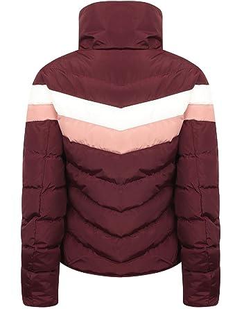 c50e9937cea4 Tokyo Laundry Women's Anise Retro Style Ski Puffer Jacket: Amazon.co.uk:  Clothing