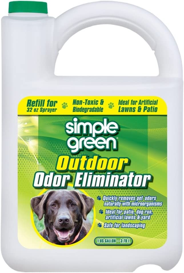 SIMPLE GREEN Outdoor Odor Eliminator for Pets, Dogs, Ideal for Artificial Grass & Patio