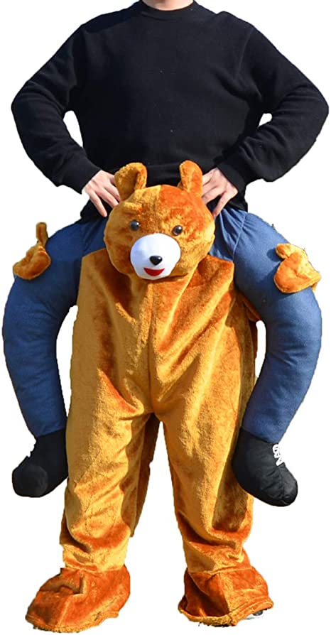 SANEYDER Disfraz de Oso de Peluche para Halloween, Cosplay ...