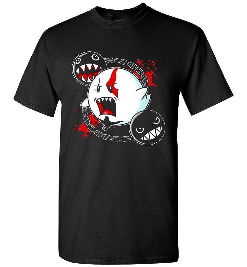 BEWSEL Kratos Ghost of War T Shirt