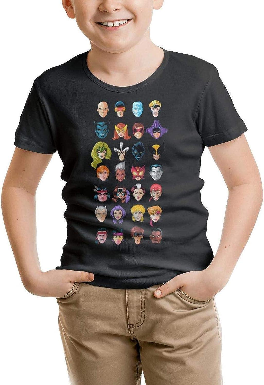 MOWAN Toddler Short Sleeve Crew Neck Tshirt Fit Hip Hop Tee