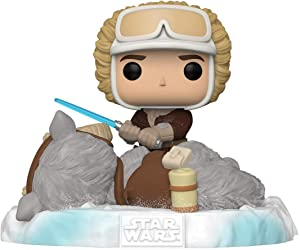 Funko Pop! Deluxe Star Wars: Battle at Echo Base Series - Han Solo and Taun Taun, Amazon Exclusive, Figure 2 of 6, Multicolor