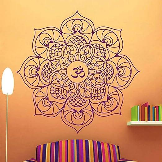 BailongXiao Mandala Tatuajes de Pared Dormitorio Símbolo Budista ...