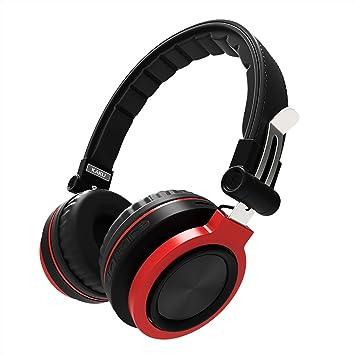 Inalámbrico Bluetooth 4.1 Auriculares plegables / Auriculares sobre el oído con micrófono, graves profundos,