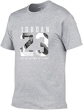 Chicago Bulls #23 Michael Jordan Hombre Camiseta, Baloncesto Manga Corta Deportes T shirt Top: Amazon.es: Bricolaje y herramientas
