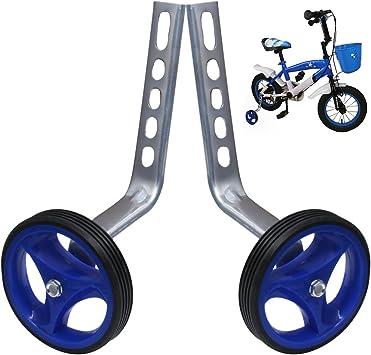 PengXiang 1 par de ruedas de apoyo para bicicleta infantil 12 14 ...