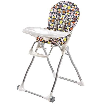 GJ@ + Silla De Comedor para Bebé Ajustable Comedor para Bebé ...
