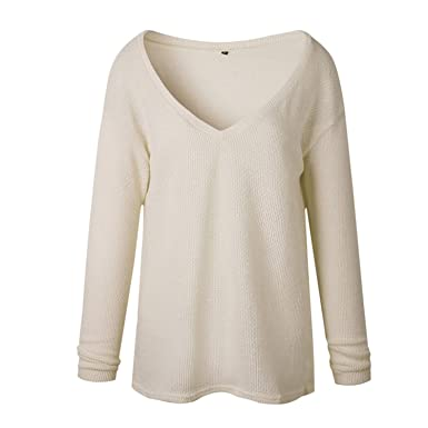 958f7177c62 Ivan Johns Blouses Plus Size 4XL Autumn Winter Knitted Casual Long Sleeve  Solid Colors Sweater Loose
