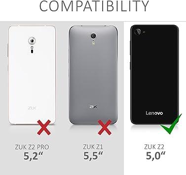 kwmobile Funda compatible con Lenovo ZUK Z2: Amazon.es: Electrónica