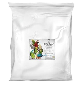 Tropican Alimento para Loros con Formula Alta Energía - 15 kg: Amazon.es: Productos para mascotas