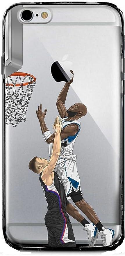 iPhone case NBA Player Ultra Slim trasparente custodia cover per ...