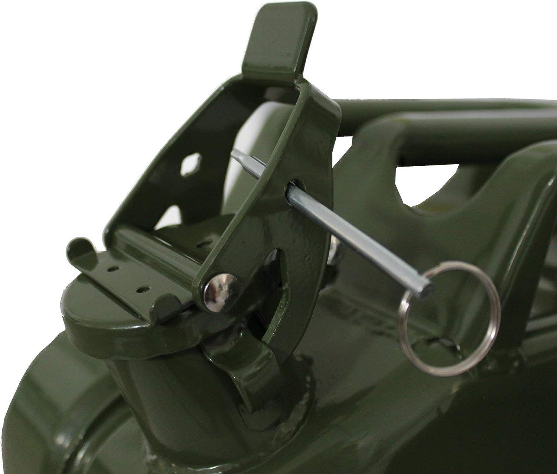 TRUTZHOLM 3X Metallkanister 20l Benzinkanister Dieselkanister Kanister Natogr/ün Oliv gr/ün Kraftstoffkanister by Baumarktplus