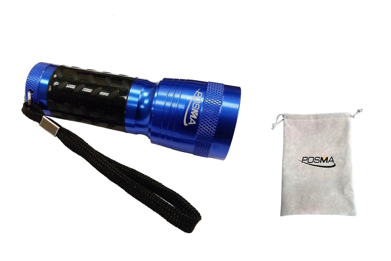 Posma GBT010 14 LED Golf Ball Finder Torch Ultraviolet Flashlight UV Retriever