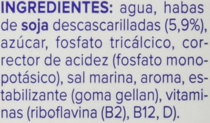 Central Lechera Asturiana - Bebida De Soja Calcio Alpro Brik 1 L ...