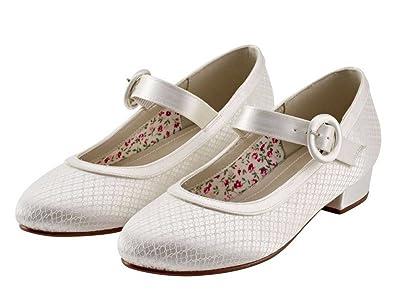17cc494ace56b Miss Rainbow Kids Mary Jane Bridesmaid Shoes Girls - Aubree ...