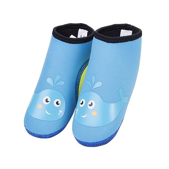 Zapatos de Playa para Niños Calcetines Aqua Descalzo para Playa y Piscina: Amazon.es: Ropa y accesorios