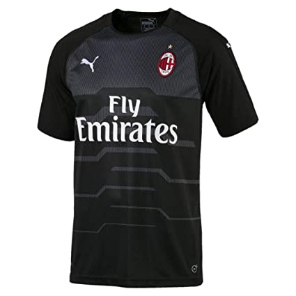 80a92f230 PUMA 2018-2019 AC Milan Away SS Goalkeeper Football Soccer T-Shirt Jersey (