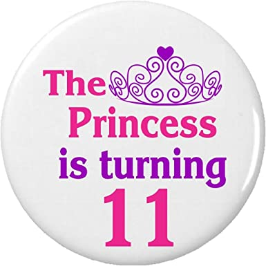 Amazon.com: The Princess is turning 11 (Eleven) - Llavero de ...