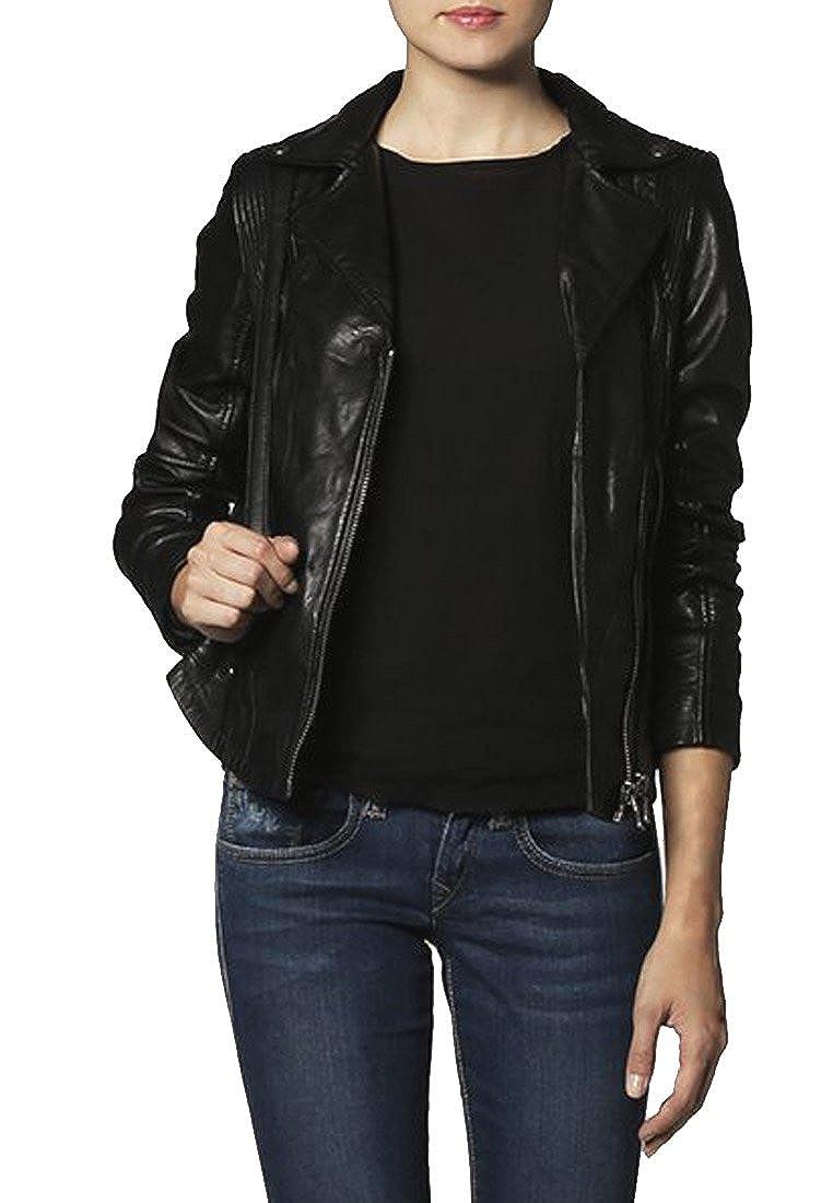Kingdom Leather Brand New Genuine Soft Lambskin Leather Jacket For Womens Designer Wear XW047
