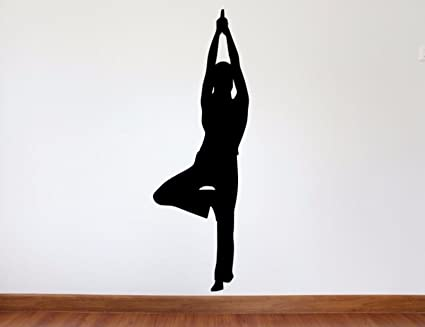 Amazon.com: Yoga Wall Decal - 45